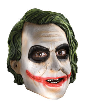 The Dark Knight Jokern 3/4 Mask Vuxen