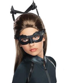 Catwoman pruik voor meisjes
