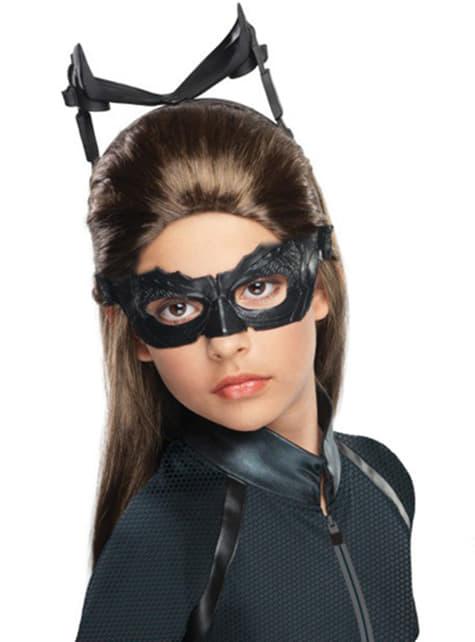 Catwoman parykk til jente