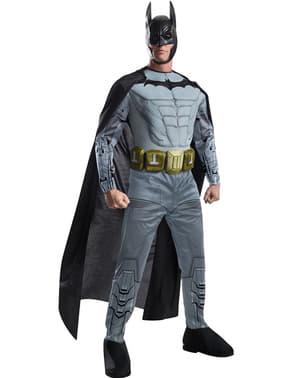 Arkham Franchise Kostüm für Herren muskulös Batman