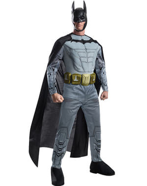 Costume da Batman Arkham Franchise muscoloso per uomo
