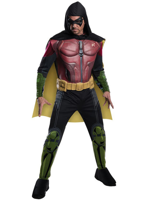 Robin Batman Arkham Franchise muscular costume for a man