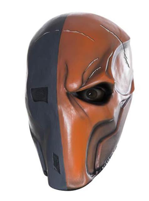 Deathstroke Maske für Erwachsene aus Vinyl Batman Arkham Franchise