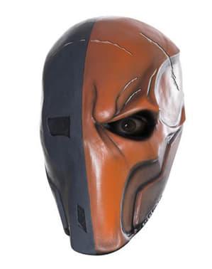 Deathstroke Batman Arkham Franchise vinyl mask for an adult