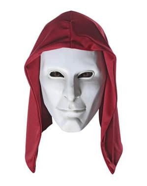 Anarki Batman Arkham Franchise Deluxe Latex Maske for Voksen