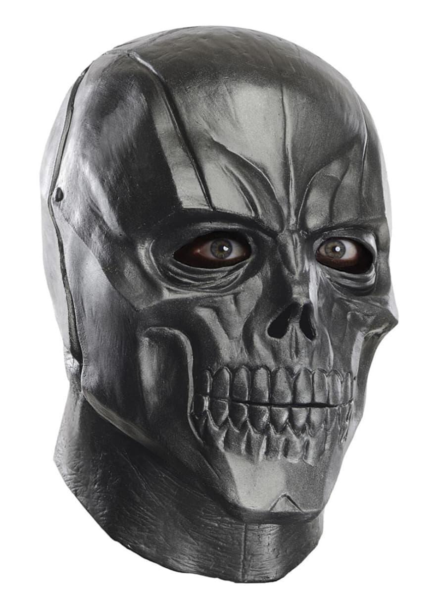 Black Batman Arkham Franchise Deluxe Latex Mask For An