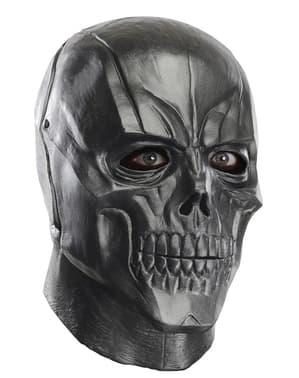 Máscara de Black Batman Arkham Franchise deluxe em látex para adulto