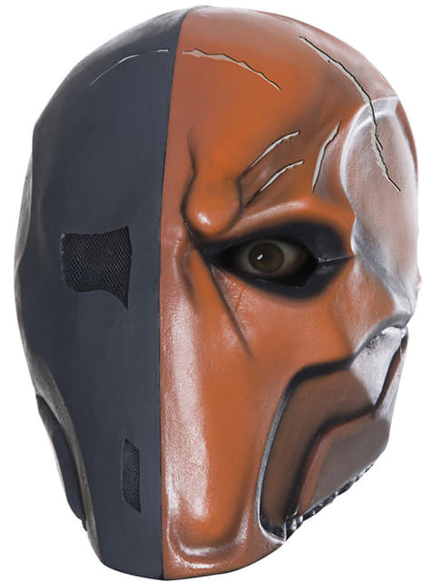Deathstroke Batman Arkham Franchise deluxe latex maszk felnőtteknek