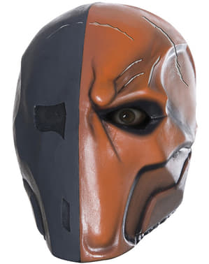 Maska Deathstroke Batman Arkham lateksowa deluxe dla dorosłych