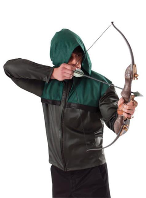 緑色の矢印の弓と矢のセット