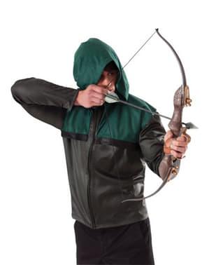 Зеленая стрела с луком и стрелами
