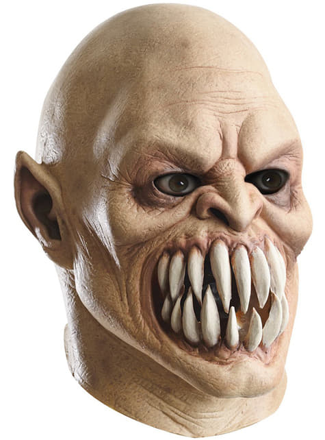 Baraka Mortal Kombat luxusná latexová maska pre dospelých