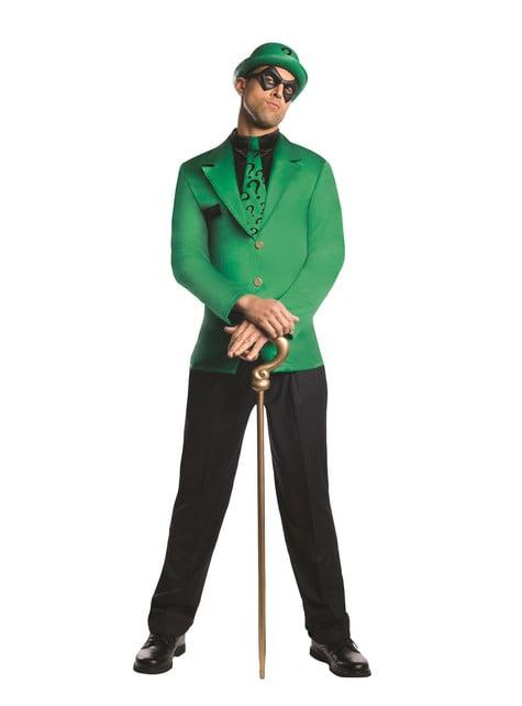 Riddler DC Superskurk Kostyme til Menn