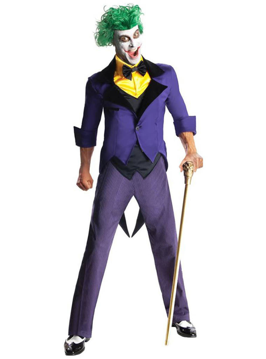Joker DC Comics costume for a man. Express delivery ...