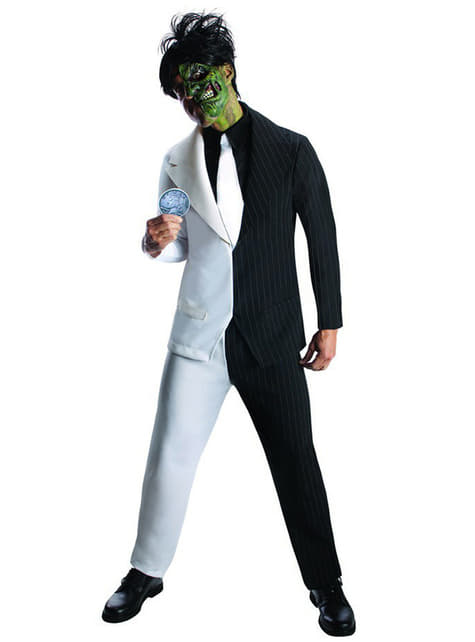 Two Face DC Comics costume for a man