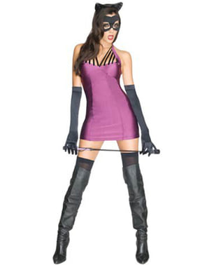 Catwoman Kostüm für Damen DC Comics