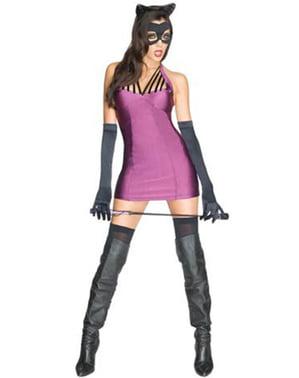Fato de Catwoman DC Comics sexy para mulher
