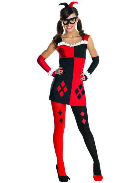 Kostium Harley Quinn DC Comics dla nastolatków