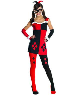 Disfraz de Harley Quinn DC Comics para adolescente