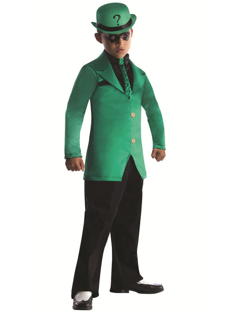 Riddler DC Comics costume for a boy