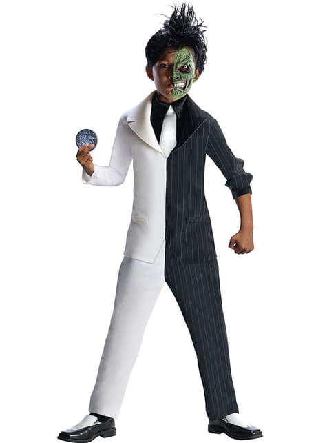 Two Face DC Comics costume for a boy