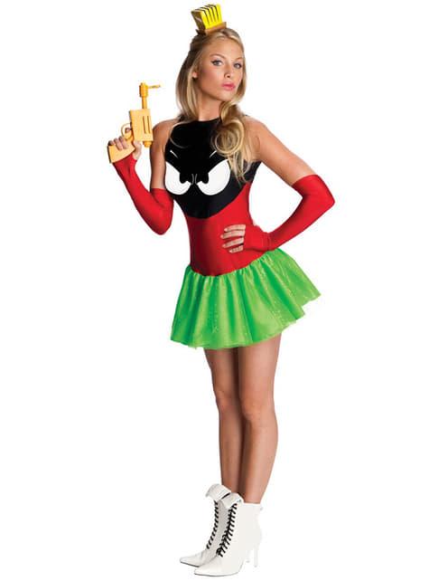 Marvin der Marsmensch Kostüm für Damen sexy