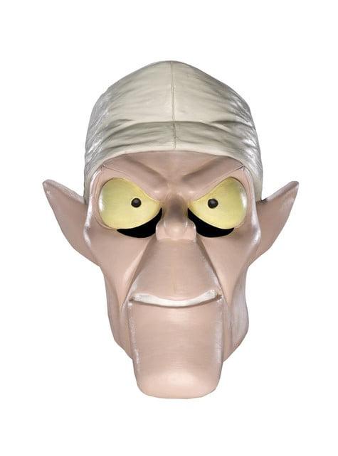Máscara de Dr. Coffin Scooby-Doo de látex para adulto