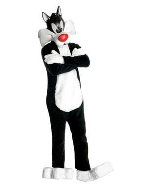 Pánský kostým Sylvester Looney Tunes supreme