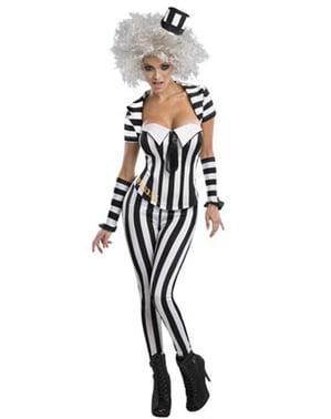 Costum Beetlejuice corset pentru femeie