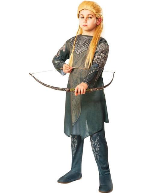 Kostium Legolas Hobbit Pustkowie Smauga dla chłopca