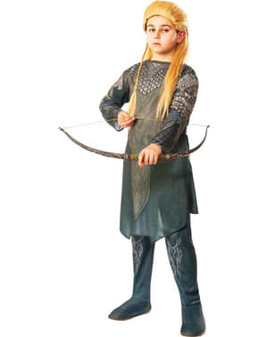 Legolas The Hobbit The Desolation of Smaug Kostyme for Barn