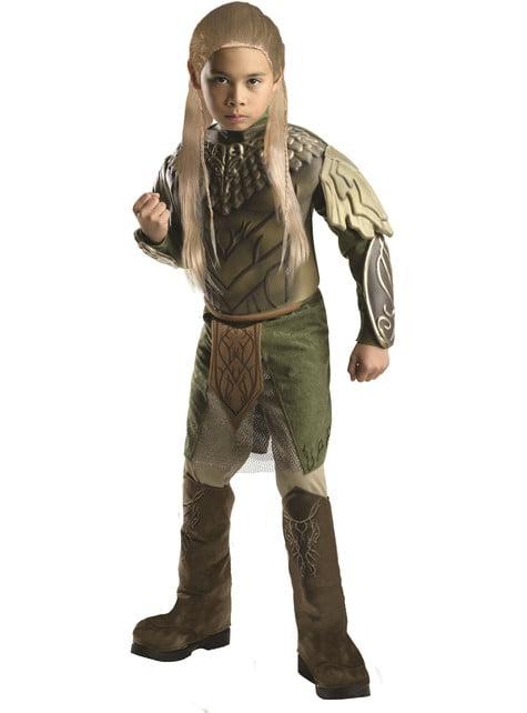 Disfraz de Légolas El Hobbit La Desolación de Smaug deluxe para niño