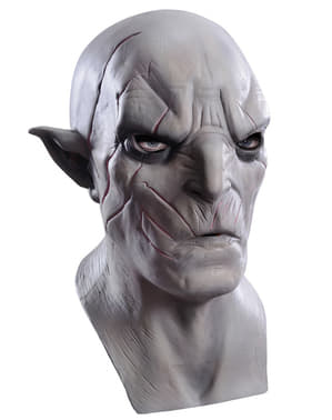 Azog Maske für Erwachsene Latex Der Hobbit Smaugs Einöde