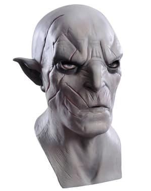 Máscara de Azog O Hobbit A Desolação de Smaug em látex para adulto