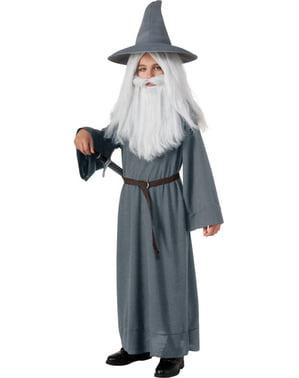 Gandalf Kostüm für Junge Der Hobbit Eine unerwartete Reise