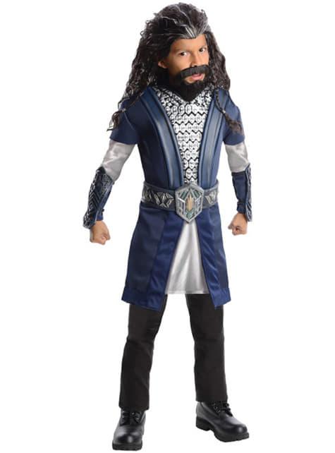 Thorin Oakenshield The Hobbit An Unexpected Journey kostuum deluxe voor kinderen