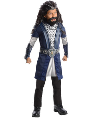 Thorin Oakenshield The Hobbit An Unexpected Journey kostuum deluxe voor kinderen