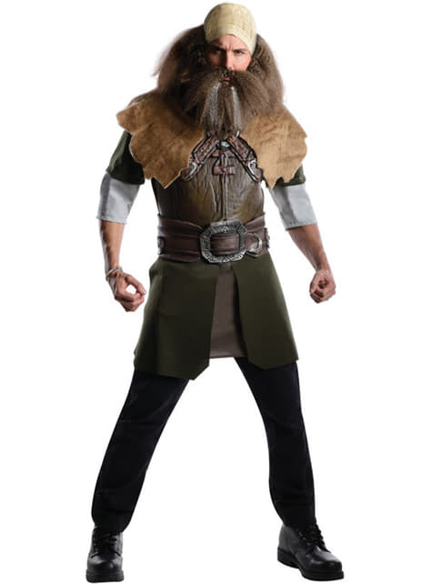Strój deluxe karzeł Dwalin Hobbit Niezwykła podróż męski