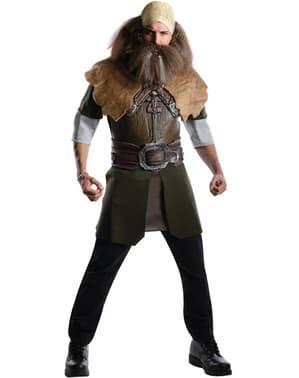 Déguisement Dwalin le nain, Le Hobbit : Un voyage inattendu Deluxe pour Homme