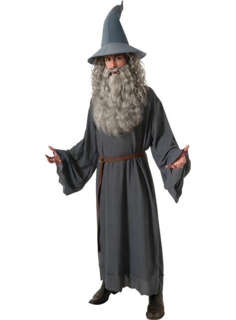 Disfraz de Gandalf El Hobbit Un Viaje Inesperado para hombre