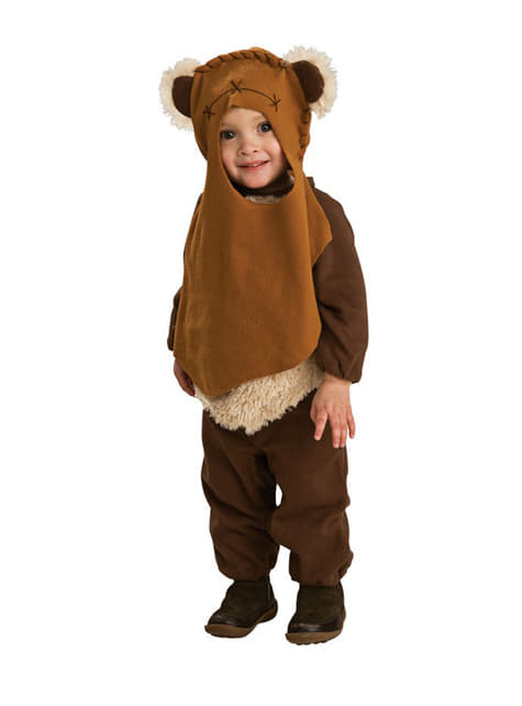 Ewok Star Wars Kostyme for Barn