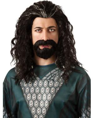 Kit barba y peluca de Thorin Escudo de Roble El Hobbit Un Viaje Inesperado para adulto