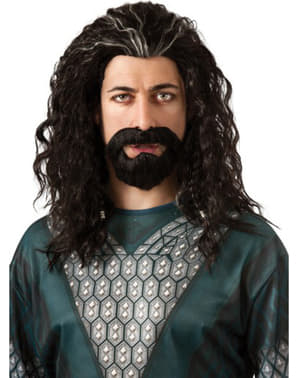 Kit barbe et perruque Thorin Bouclier de chêne, Le Hobbit : Un voyage inattendu pour adulte