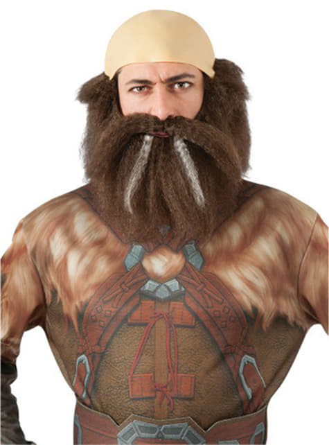 Dwalin the Dwarf The Hobbit An Unexpected Journey beard and wig set for an adult