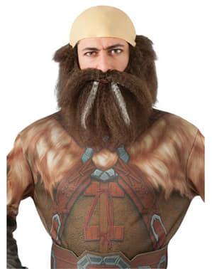 Conjunto barba e peruca de Dwalin Escudo-de-Carvalho O Hobbit: Uma Viagem Inesperada para adulto
