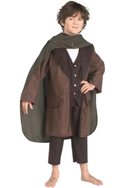 Fato de Frodo Bolseiro O Senhor dos Anéis para menino