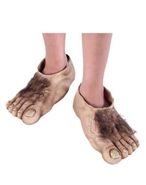 Herr der Ringe Hobbit Füße für Jungen