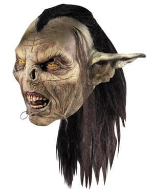 Máscara de Orco de Moria El Señor de los Anillos para adulto