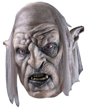 Máscara de Chefe Orc O Senhor dos Anéis para adulto