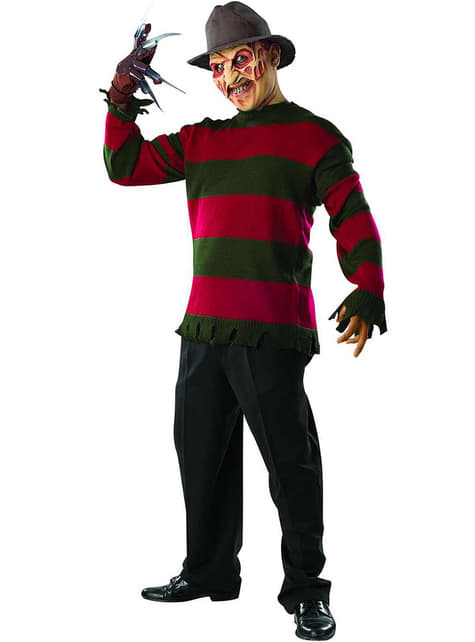 Fato de Freddy Krueger deluxe para homem